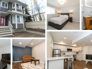 # 4 bedrooms sleeps 9 - RED Whyte Ave - Brand New - Whole unit