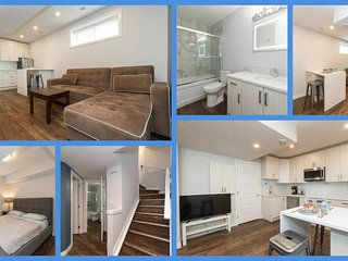 #Blue 1 bedroom sleeps 3 on Whyte Ave - Basement