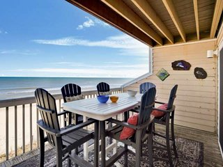 Beachfront, Newly Remodeled Ocean Dunes condo, Indoor/Outdoor Pool, 2 large deck