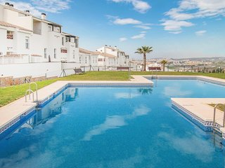 Beautiful home in Caleta de Velez with WiFi, Outdoor swimming pool and 2 Bedroom