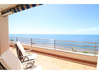 Fantastic penthouse directly at the beach with big terrace andmarvelous sea view