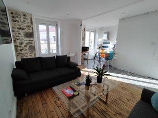 Appartement spacieux et lumineux Parvis Gare