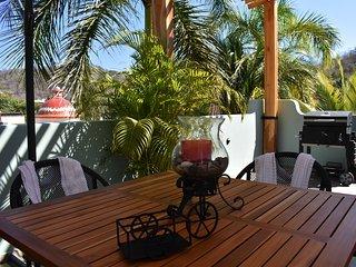 Suite de lujo con patio y alberca a 5 min del mar