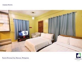 SPACIOUS Two-Storey Cozy House in the heart of Puerto Princesa Palawan