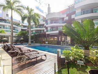 Excelente Apto 3 dorms 6 pessoas Condominio com Piscina - Boulevard Bombinhas