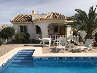 2 bedroom villa with separate apartment.