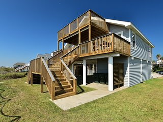 NEW LISTING! Beautiful beachfront home w/ views - close to town