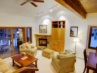 Just Listed Sale! Ski Shuttle, Secluded Complex on Mtn, Sauna, Grill, Deck, Fire
