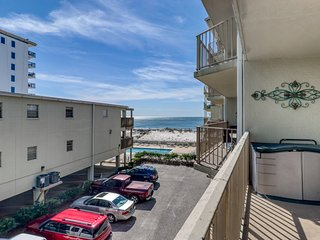 Second floor condo w/ Gulf  views, two outdoor pools, and beach access!