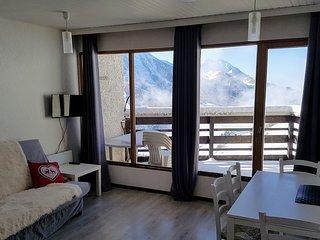 Studio avec belle terrasse et magnifique panorama