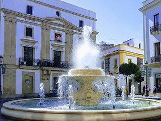 Casa del vino en el centro de Jerez