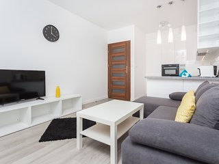 Self Check-in; near Tauron Arena; 1-bedroom, fully - equipped;bath; balcony