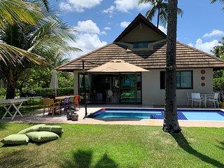 Bangalô de LUXO à beira mar - Carneiros Beach Resort