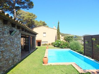 Begur, Casa con vista al mar, jardin, piscina privada y parking,
