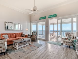 Dog friendly beach front house w/ stunning views, free WiFi, & outdoor shower!