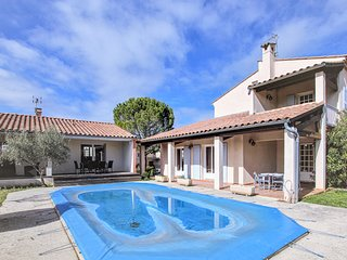 Stunning home in Lussas w/ WiFi, Outdoor swimming pool and 6 Bedrooms (FRA160)