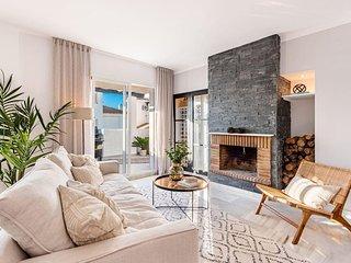 New duplex penthouse Scandi-style