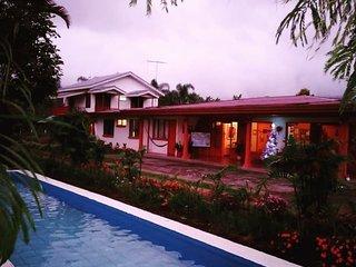 Casa Aquiares Lodge ...Toda la propiedad