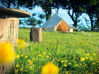 The Dalai Llama Glamping Bell Tent - Family Zone