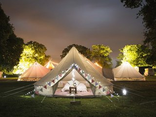 Stargazer Bell Tent - Hang Out Zone