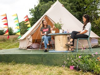 The Bunnies Barrow Bell Tent - Family Zone