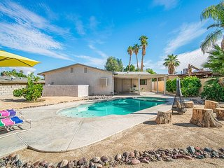 CHECK THIS OUT STUNNING DESERT OASIS with POOL & SPA right by EL PASEO
