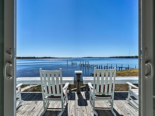 NEW! Atlantic Coast Dome Beach House: Deck & Views