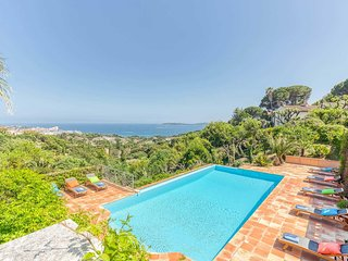 Beautiful villa enjoying glorious sea views