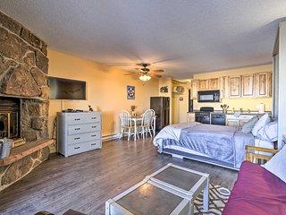 NEW! Studio w/Resort Amenities 2Mi to Granby Ranch
