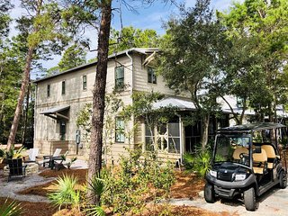 MAGNOLIA COTTAGES BY THE SEA - SHORE THING | SLEEPS 12 | GOLF CART INCLUDED!