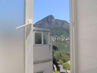 Cobertura 3 quartos com vista para o Cristo Redentor, Lagoa Rodrigo de Freitas e