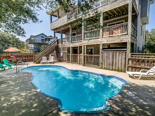 Wine Down | 1830 ft from the Beach | Private Pool, Hot Tub | Corolla