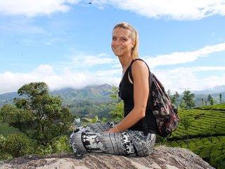 viZrama Retreat Munnar - tree top tent with food - yoga - meditation - massage