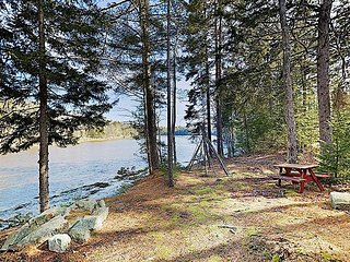 New Listing! The Chocolate Moose: Waterfront Retreat w/ Porch & Views