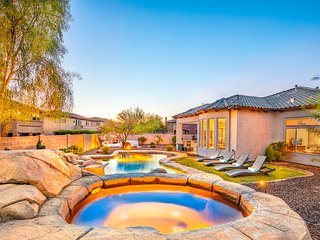 Enjoy 3 Master Suites, Heated Pool with Water Slide, Fun Game Room, Prime Area