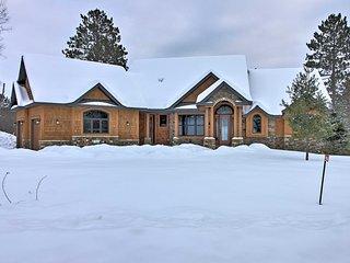 NEW! Lakefront Giants Ridge Retreat Near Ski/Golf!