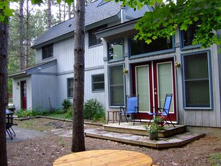Peaceful dog-friendly home w/ wood stove & private gas grill - close to mountain