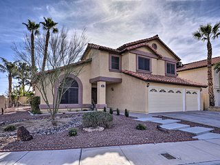 NEW! Chic Vegas Home w/Pool + Spa, 7 Mi to Casinos