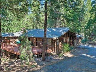 NEW! Forest Home w/ Lake Access; Ski, Swim, & Hike