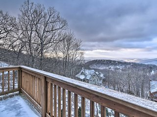 NEW! Spacious Retreat w/ Hot Tub & Mountain Views!