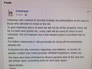 Chimneys Alnwick