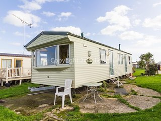 8 berth caravan with decking for hire at Seawick holiday park ref 27040S