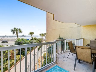 Oceanfront condo w/ shared pools & views - just steps from the beach
