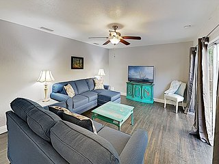 New Listing! Stylish Remodeled Home w/ Patio - Short Drive to the Beach