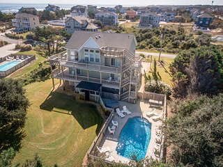 Pelican Pointe | 355 ft from the Beach | Private Pool, Hot Tub | Corolla