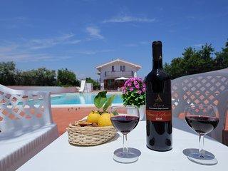 Villa Rossitto con piscina - Apartement 5+2 with pool 1°P