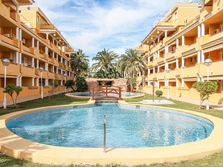 Amazing apartment in Dénia with Outdoor swimming pool, WiFi and 3 Bedrooms (EBI