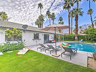 NEW! Modern Oasis ~3 Mi to Downtown Palm Springs!