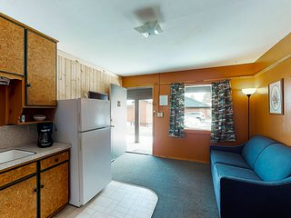 Cozy, dog-friendly cabin w/ shared hot tub - 17 miles to skiing!