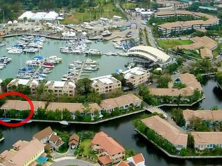 Boat lagoon Marina Residences 2 Bedrooms( Corner Unit with waterfront )